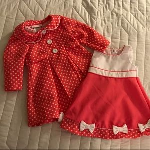 Bonnie Baby dress and jacket. 18 month